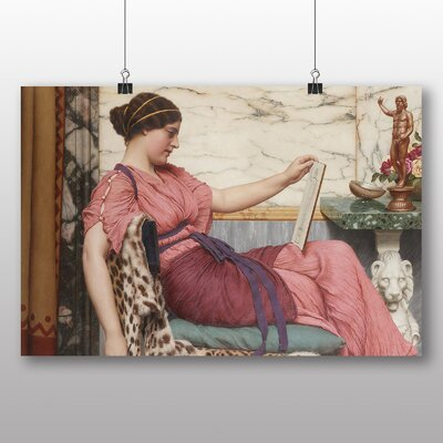 Big Box Art 'An Amateur' by John William Godward Art Print