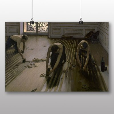 Big Box Art 'The Floor Planers' by Gustave Caillebotte Art Print