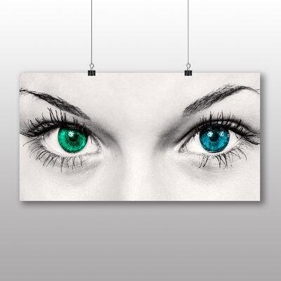Big Box Art Eyes Graphic Art on Canvas