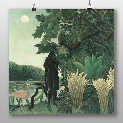 Big Box Art 'Jungle Snake' by Henri Rousseau Art Print
