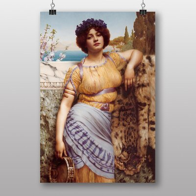 Big Box Art The Dancing Girl by John William Godward Art Print