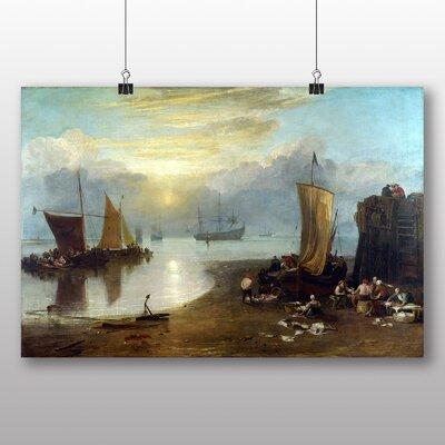 Big Box Art 'Sun Rising through Vapour No.2' by Joseph Mallord William Turner Art Print
