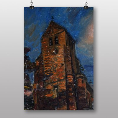 """Big Box Art """"The Tower"""" by Henry Le Fauconnier Art Print"""