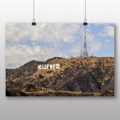 Big Box Art Hollywood Sign Los Angeles California USA No.2 Photographic Print