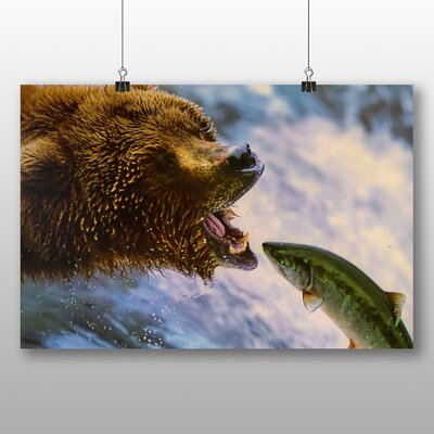 Big Box Art Grizzly Bear No.2 Photographic Print on Canvas