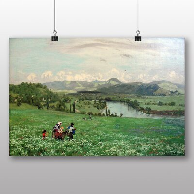Big Box Art 'Family in the Fields' by Hans Thoma Art Print