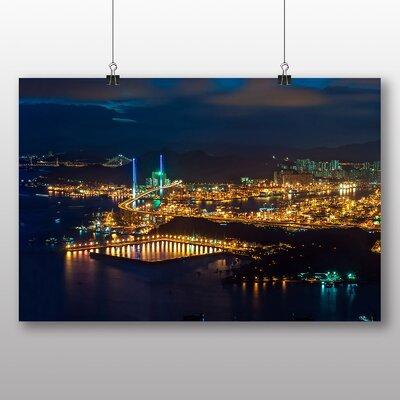 Big Box Art Hong Kong City Skyline China No.6 Photographic Print