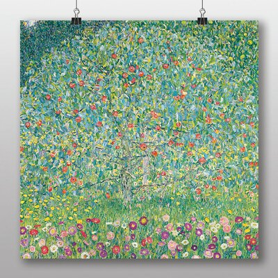 Big Box Art 'Apple Tree No.2' by Gustav Klimt Art Print
