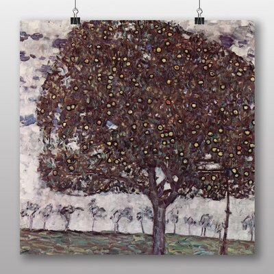 Big Box Art 'Apple Tree No.1' by Gustav Klimt Art Print