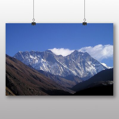 Big Box Art Himalayas Mountains Nepal No.2 Photographic Print on Canvas