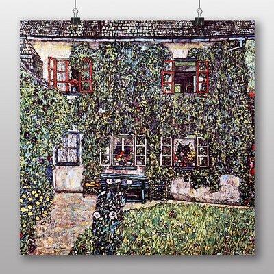 Big Box Art 'House' by Gustav Klimt Art Print