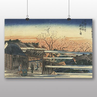 "Big Box Art ""Japanese Oriental No.30"" by Hiroshige Art Print"