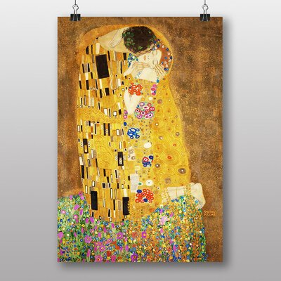 "Big Box Art ""The Kiss No.1"" by Gustav Klimt Art Print"