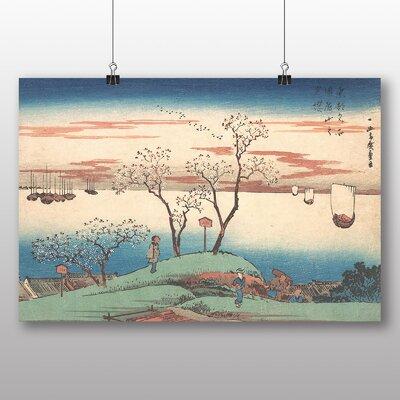 "Big Box Art ""Japanese Oriental No.24"" by Hiroshige Art Print"