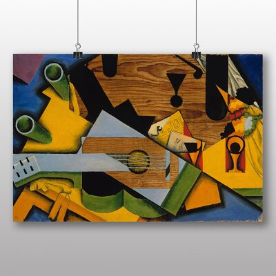 Big Box Art 'Still Life with Guitar' by Juan Gris Graphic Art