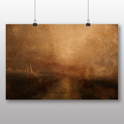 Big Box Art 'Yacht Approcahing the Coast' by Joseph Mallord William Turner Art Print