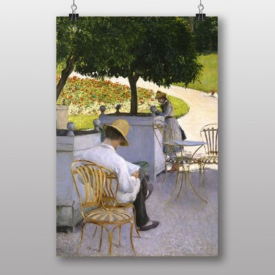 Big Box Art The Trees by Gustave Caillebotte Art Print