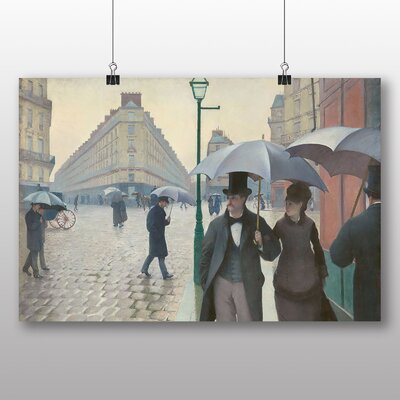 Big Box Art 'Paris Street on a Rainy Day' by Gustave Caillebotte Art Print