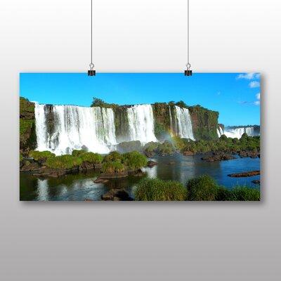 Big Box Art Iguazu Falls Brazil Photographic Print on Canvas