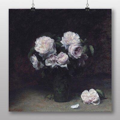 Big Box Art 'Roses' by Henri Fantin-Latour Art Print