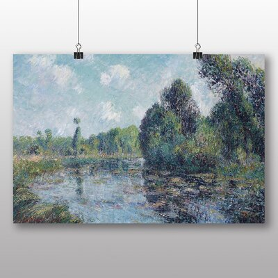 Big Box Art 'River Landscape' by Gustave Loiseau Art Print