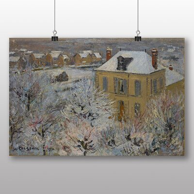 Big Box Art 'Snowy Landscape' by Gustave Loiseau Art Print