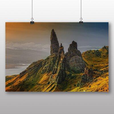 Big Box Art Isle of Skye Scotland No.6 Photographic Print on Canvas