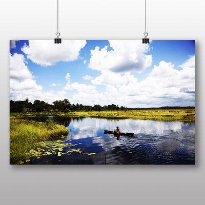 Big Box Art Guyana Landscape Photographic Print Wrapped on Canvas