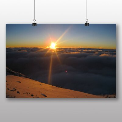 Big Box Art Kilimanjaro Mountain No.2 Photographic Print Wrapped on Canvas