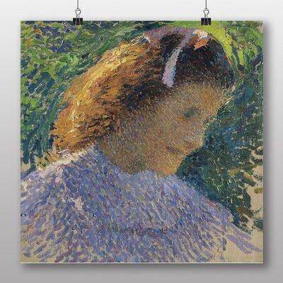 "Big Box Art ""Young Girl"" by Henri Martin Art Print Wrapped on Canvas"