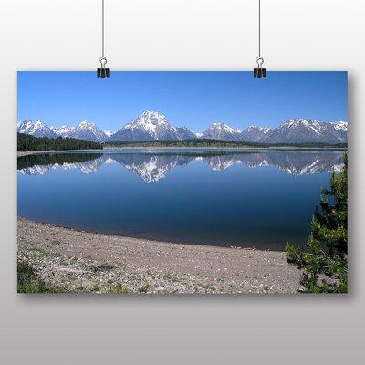 Big Box Art Jackson Lake Wyoming USA Photographic Print