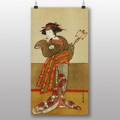 "Big Box Art ""Vintage Japanese Oriental Art No.1"" by Katsuwaka Shunso Art Print"
