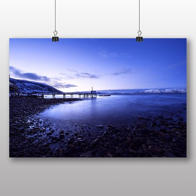 Big Box Art Iceland Landscape No.2 Photographic Print Wrapped on Canvas