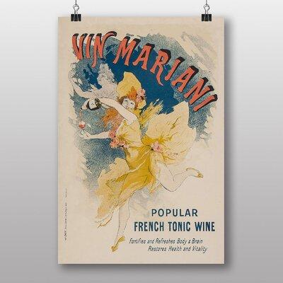 Big Box Art 'Artwork No.21' by Jules Cheret Vintage Advertisement