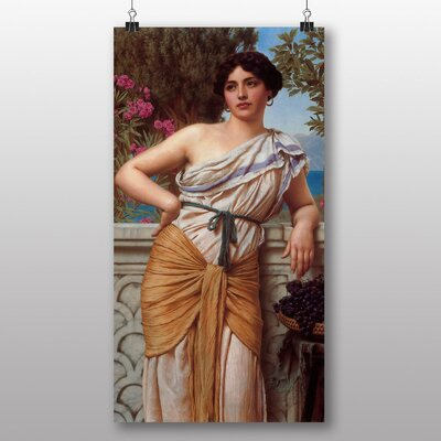 Big Box Art 'Reverie' by John William Godward Art Print