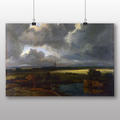 Big Box Art 'Landscape with Ruins' by Jacob Ruisdael Art Print