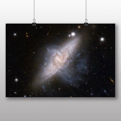 Big Box Art Galaxy Space No.2 Graphic Art on Canvas