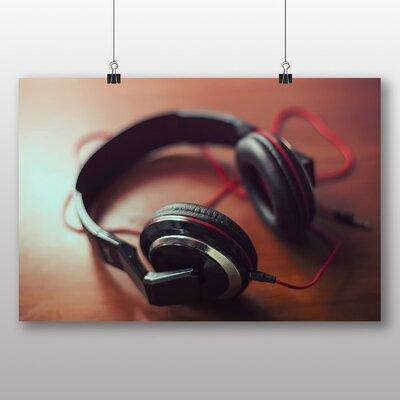 Big Box Art 'Headphones' Photographic Print
