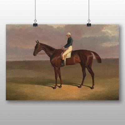 Big Box Art 'Margrave' with James Robinson' by John Frederick Herring Art Print