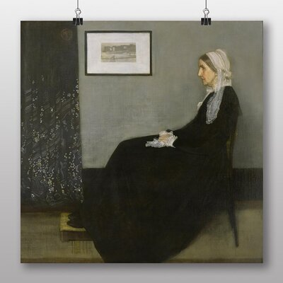 Big Box Art 'Artists Mother' by James McNeill Whistler Art Print
