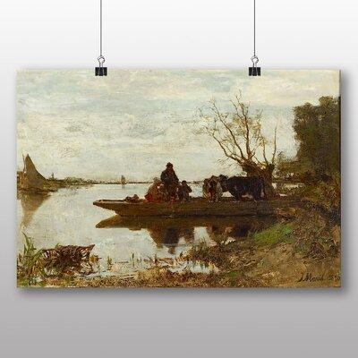 Big Box Art 'Ferry' by Jacob Maris Art Print