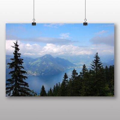 Big Box Art Klewenalp Mountain Switzerland Photographic Print