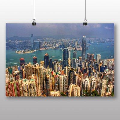 Big Box Art Hong Kong City Skyline China No.2 Photographic Print
