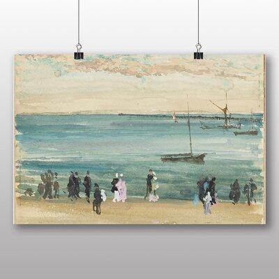 Big Box Art 'Southend Pier' by James McNeill Whistler Art Print