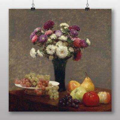 Big Box Art 'Still Life Fruit with Flowers No.4' by Henri Fantin-Latour Art Print