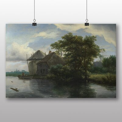 Big Box Art 'Landscape No.2' by Jacob Ruisdael Art Print