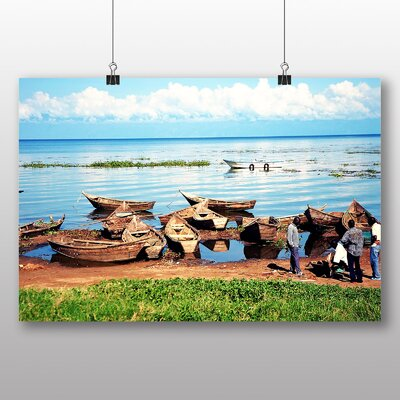 Big Box Art Lake Victoria Uganda Photographic Print on Canvas