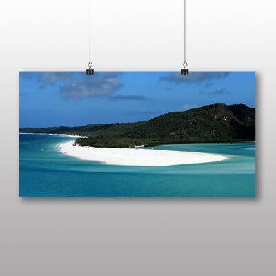 Big Box Art Great Barrier Reef Australia Photographic Print Wrapped on Canvas