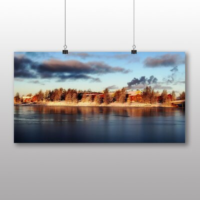 Big Box Art Lapland Forest Finland No.2 Photographic Print Wrapped on Canvas