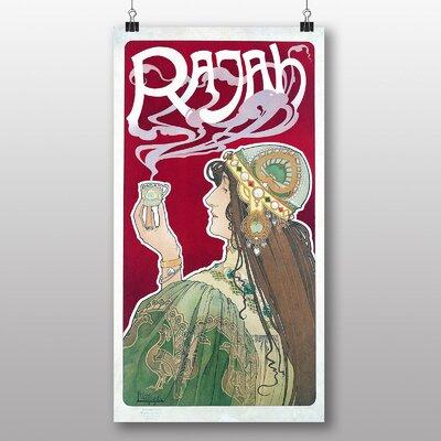 Big Box Art Rajah' by Henri Privat Livemont Vintage Advertisement